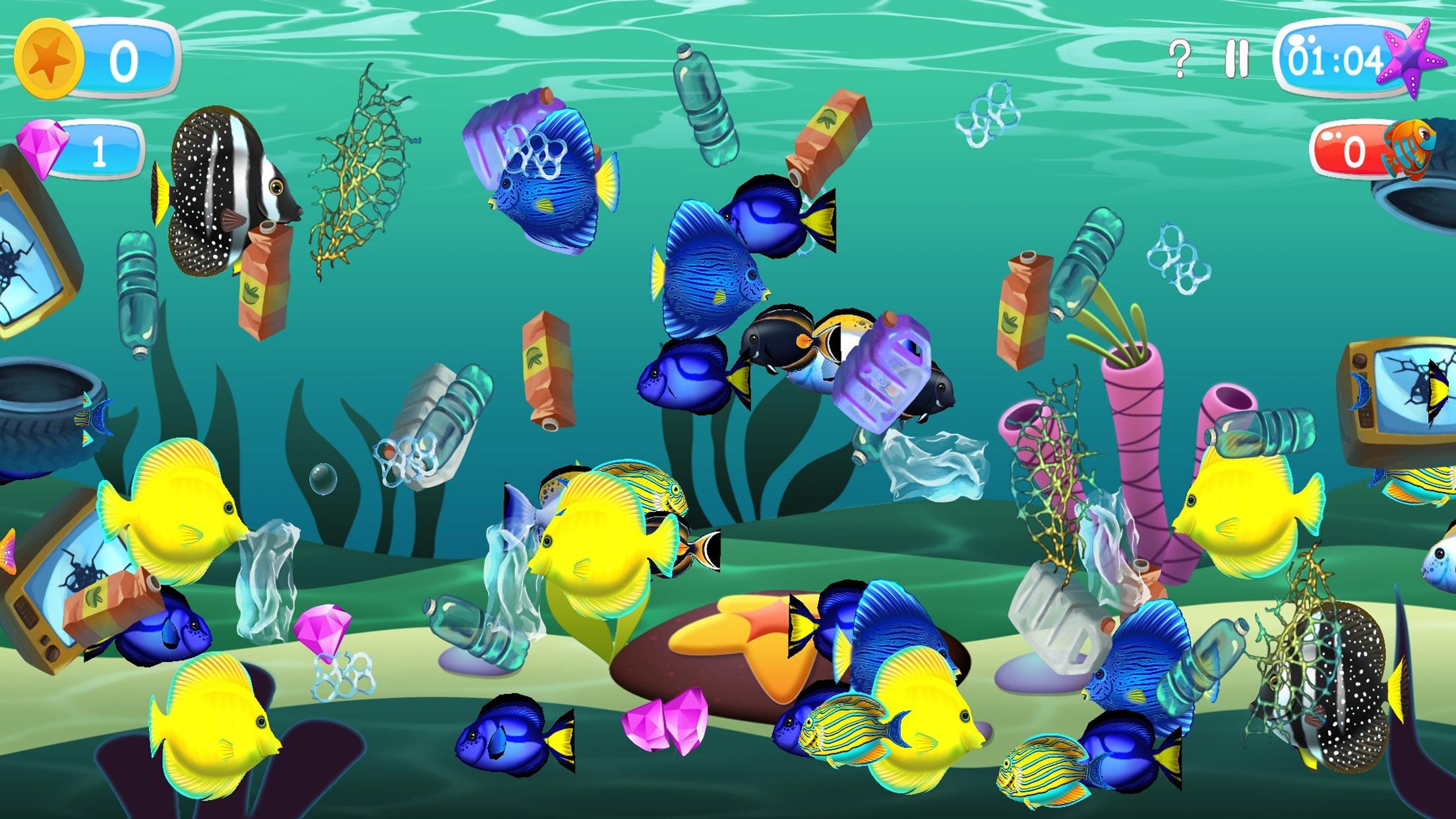 Rettet unseren Ozean Spiel