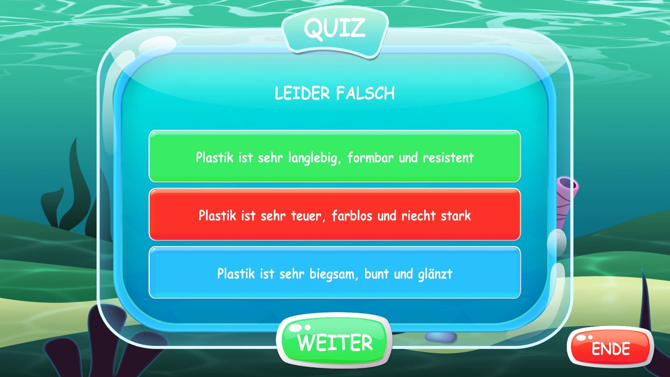 Rettet unseren Ozean Quiz