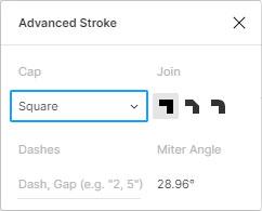Advanced Stroke für die SVG Animation