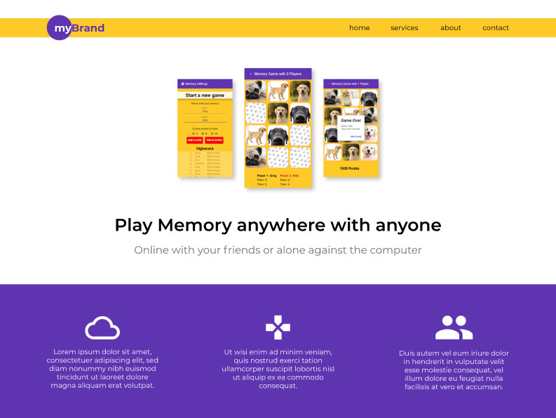 mybrand-homepage-less-is-more