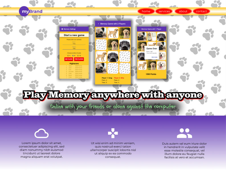 mybrand-homepage-too-complex