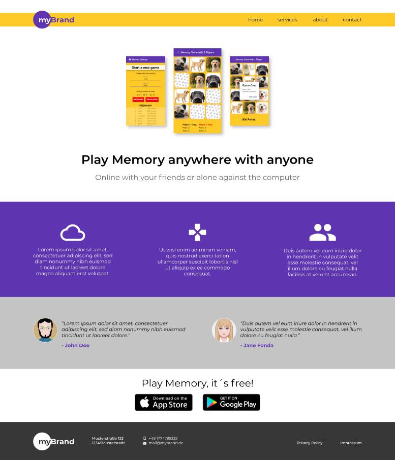 Beispiel für ein gelungenes UI Design