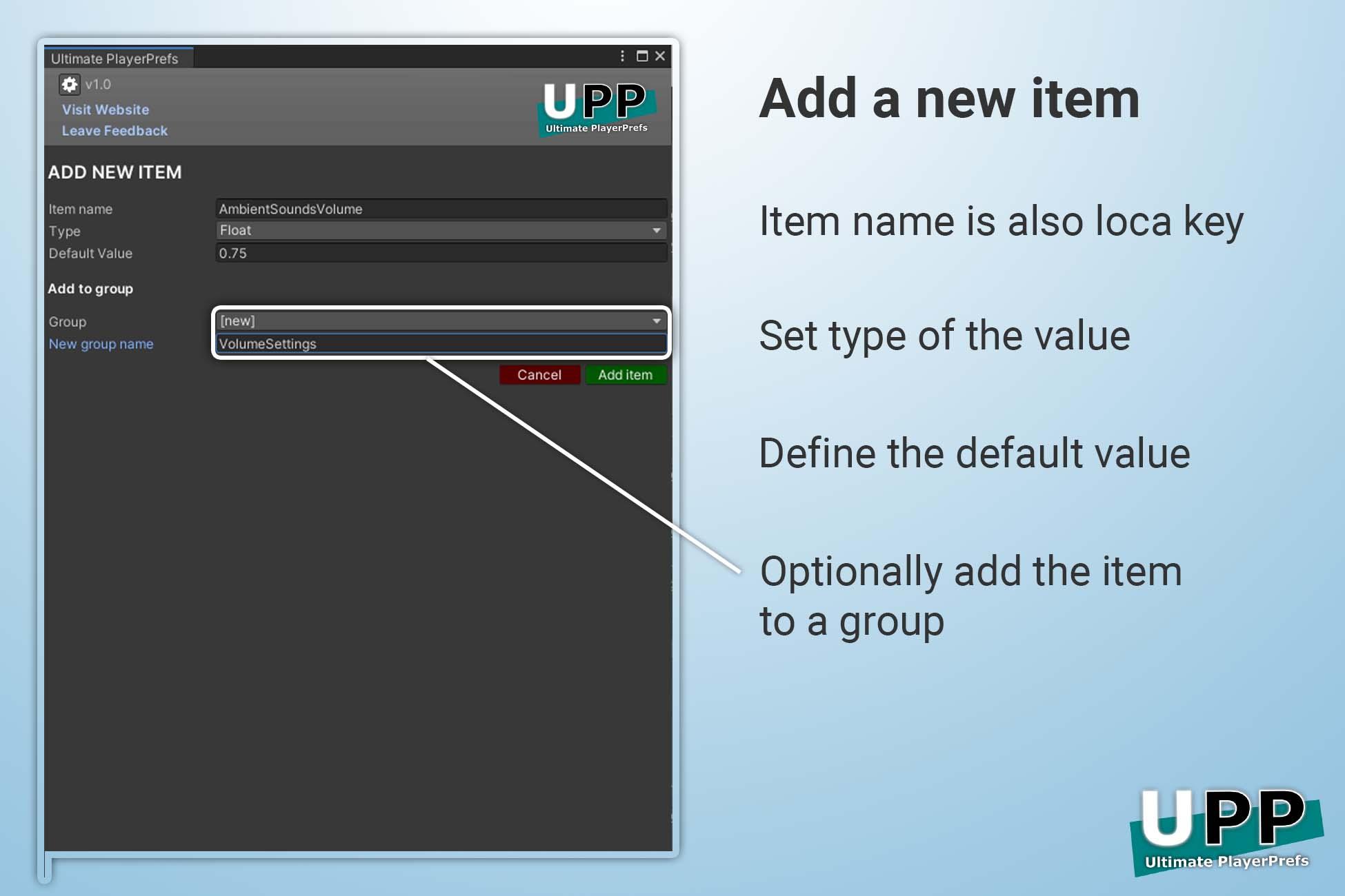 ultimate-playerprefs_add-new-item