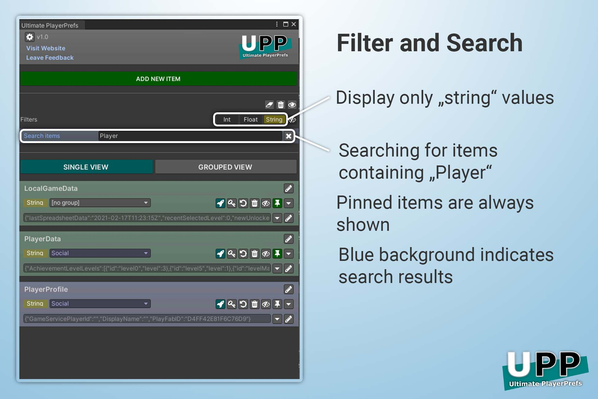 ultimate-playerprefs_filter-and-search